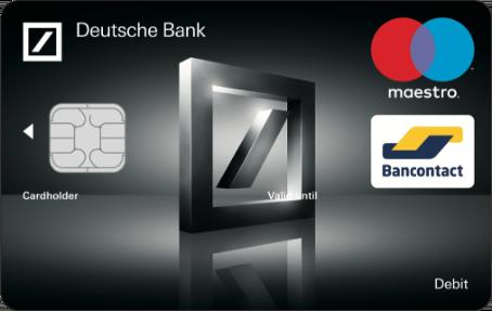 Carte Maestro Australie.Bankkaarten Deutsche Bank Belgium