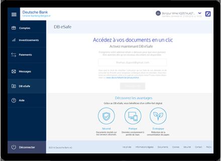Online Banking Deutsche Bank Belgium